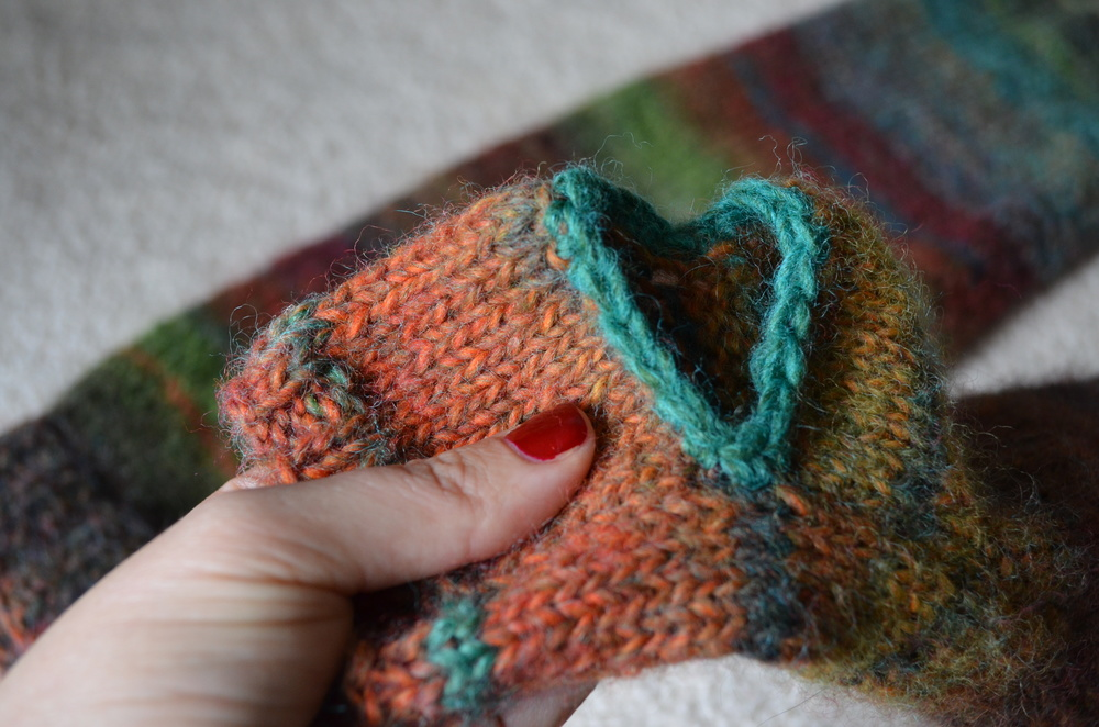 Crochet Edge on Knitting / warporweft.com