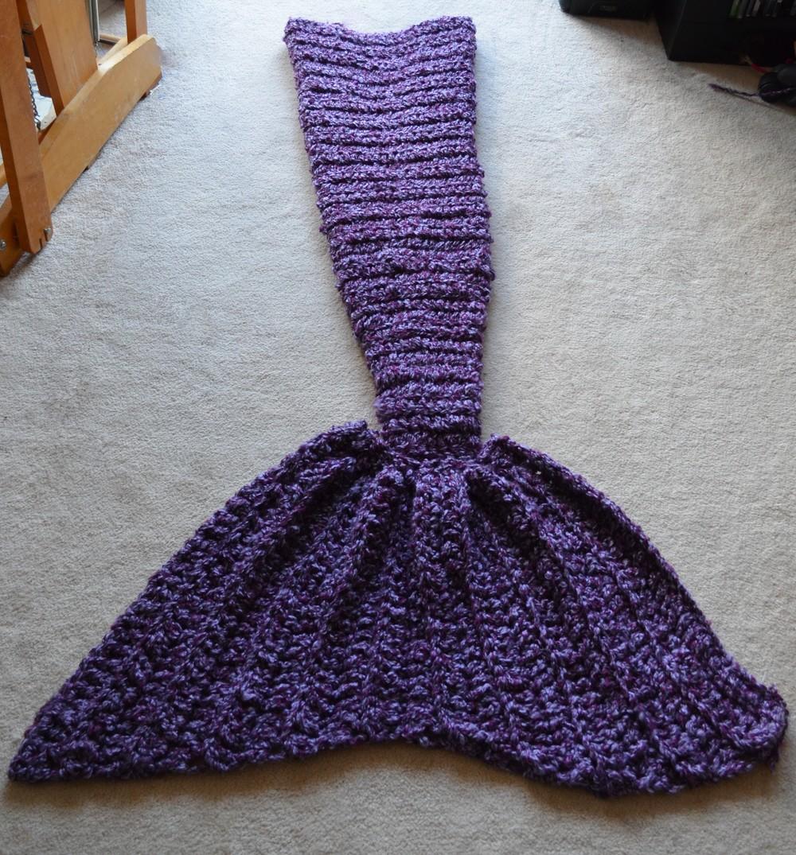Crochet Mermaid Blanket Warp Or Weft