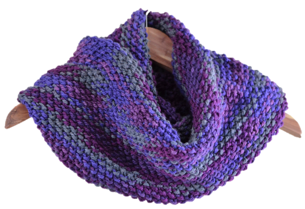 Belltown Cowl Scarf Pattern by warporweft.com