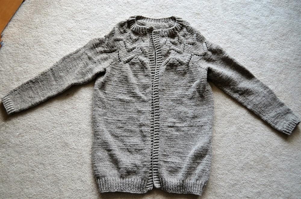yellow brick road cardi knit / warporweft.com