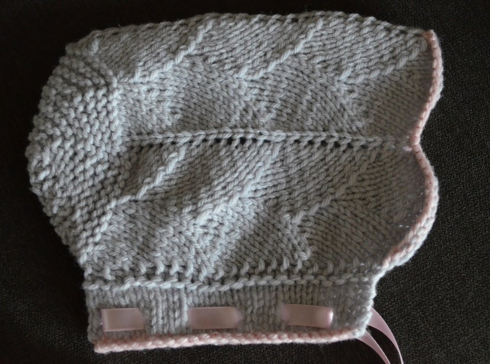 Wintergreen knit baby hat / warporweft.com