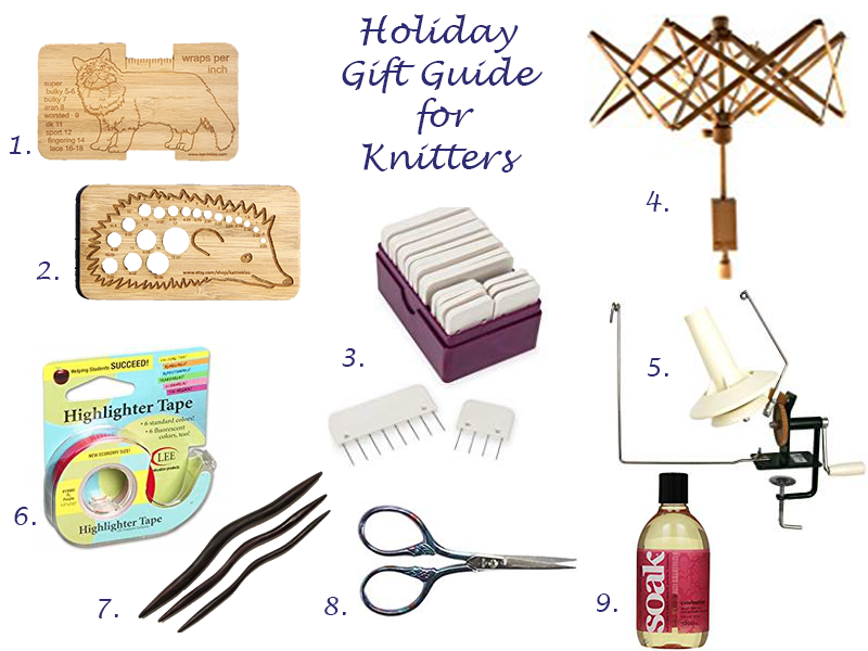 Holiday Gift Guide for Knitters / warporweft.com