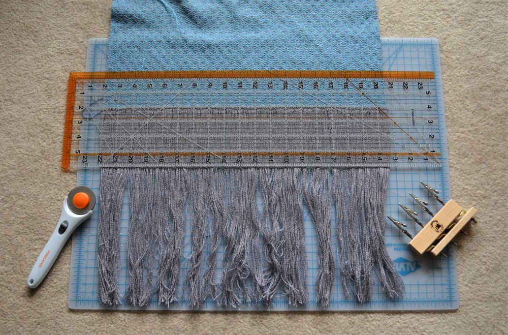 How to twist fringe / warporweft.com