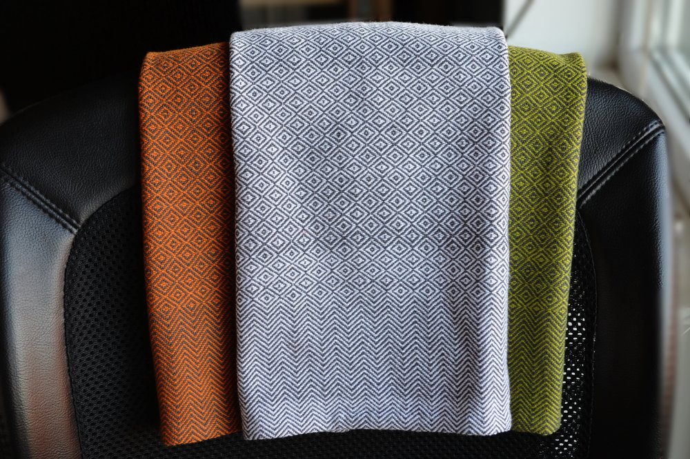 Landis Valley Linen Woven Hand Towel Pattern / warporweft.com