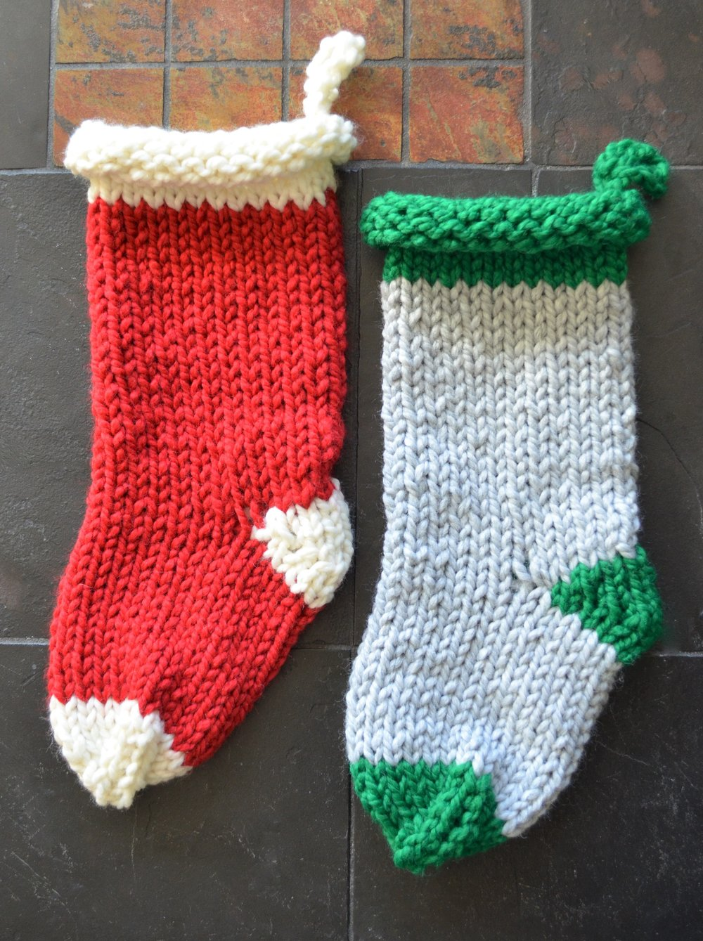 Knit Before Christmas Stockings by Warp or Weft
