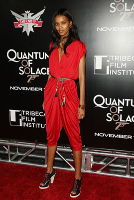 Liya Kebede Best dressed VOGUE Harpers - August 2011