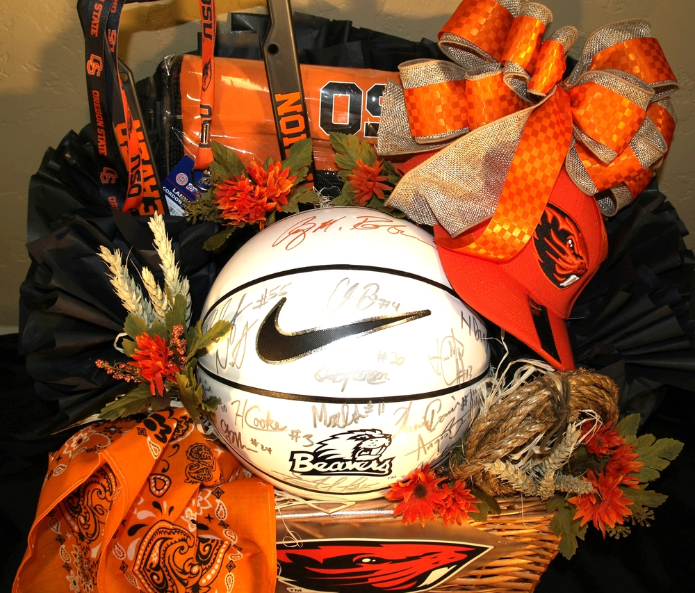 Oregon State Basketball Gift Basket