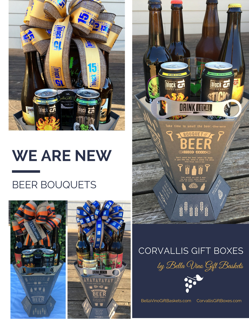 beer bouquet bella vino gift baskets