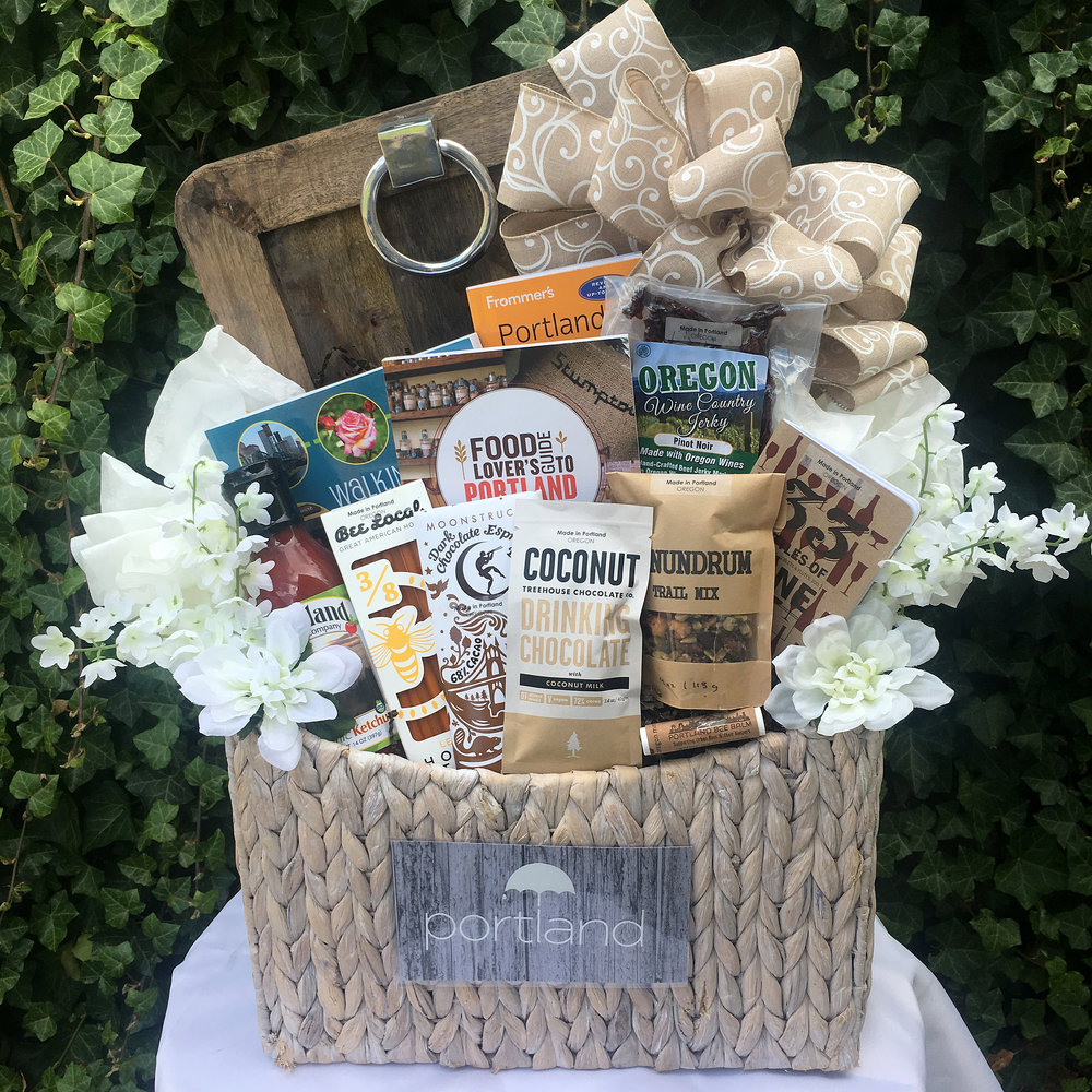 Portland Foodie Day Trip Gift Basket