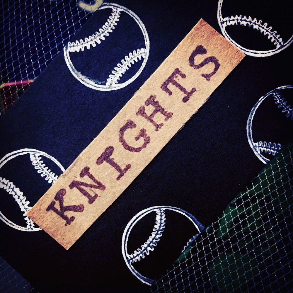 Knights Baseball Custom Gift Tag