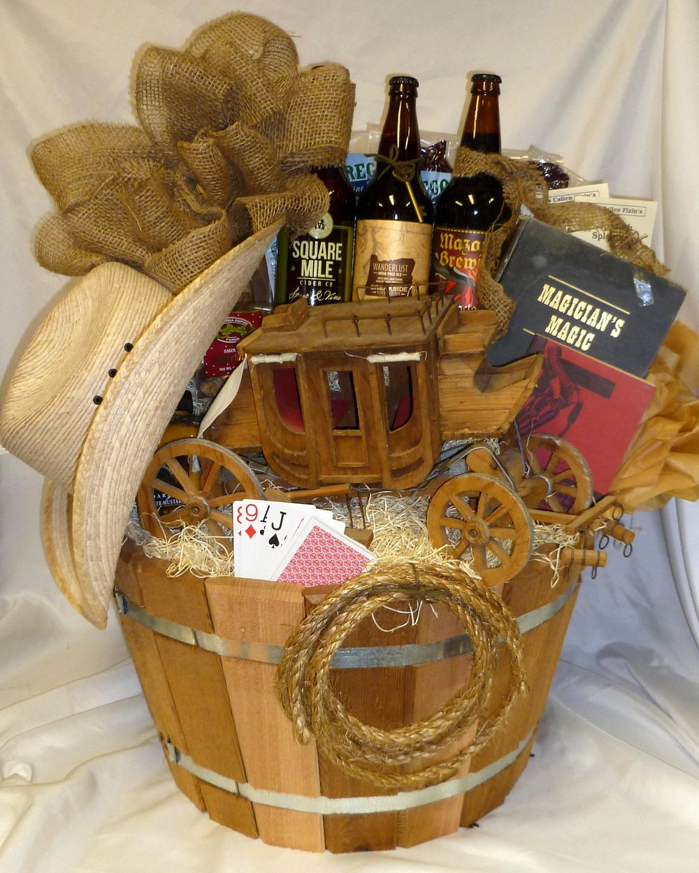 Western Stagecoach Oregon Beer Gift Basket