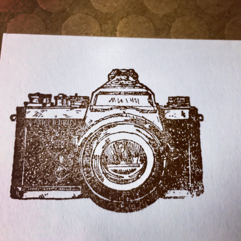 Photographer Inspired Stamp