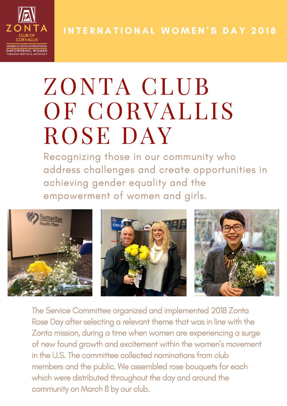 Zonta Club of Corvallis