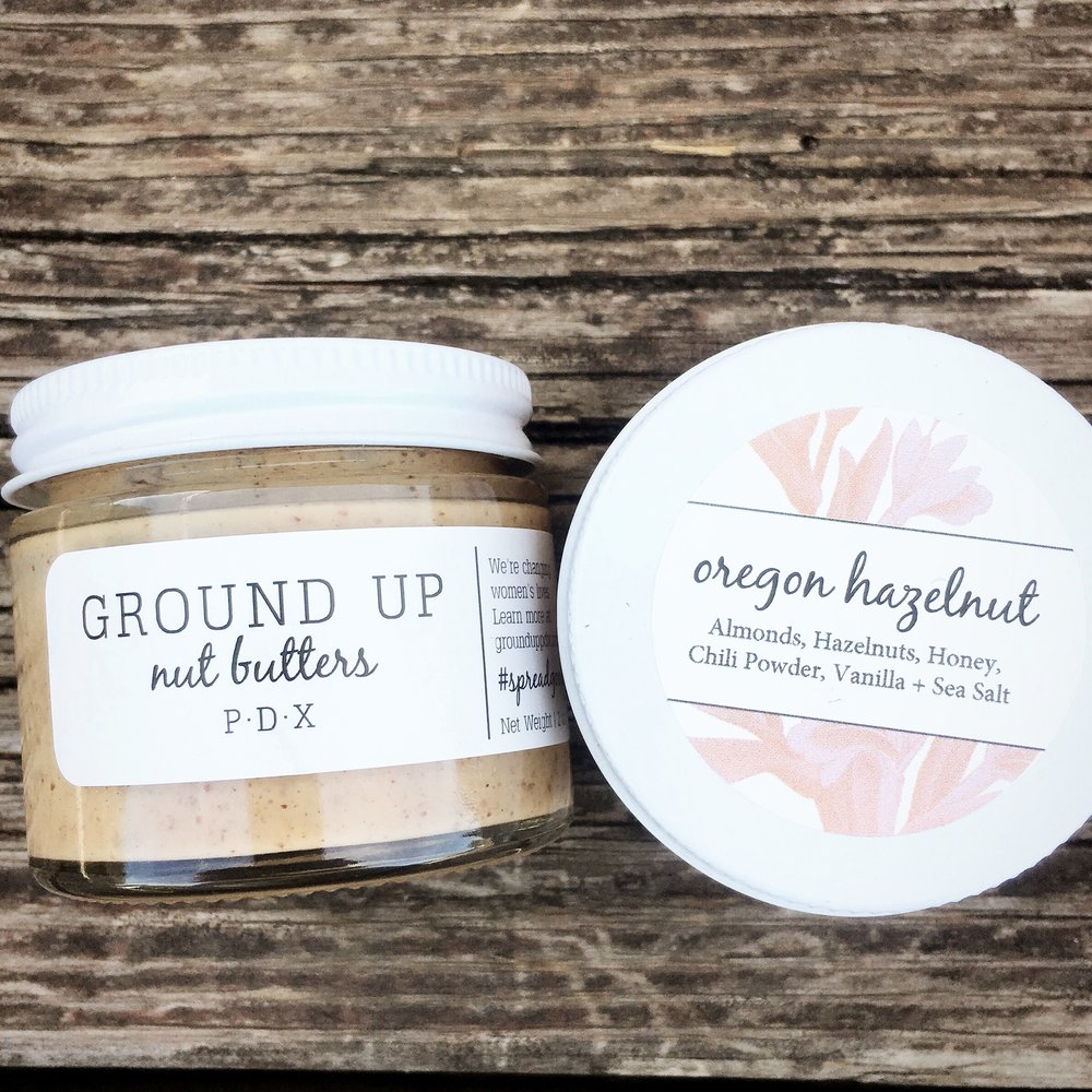 Ground Up PDX Nut Butter