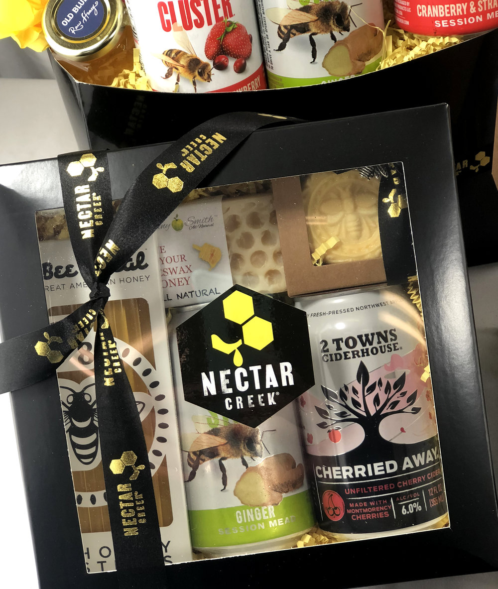 Check out other Nectar Creek Mead selections in our gift boxes