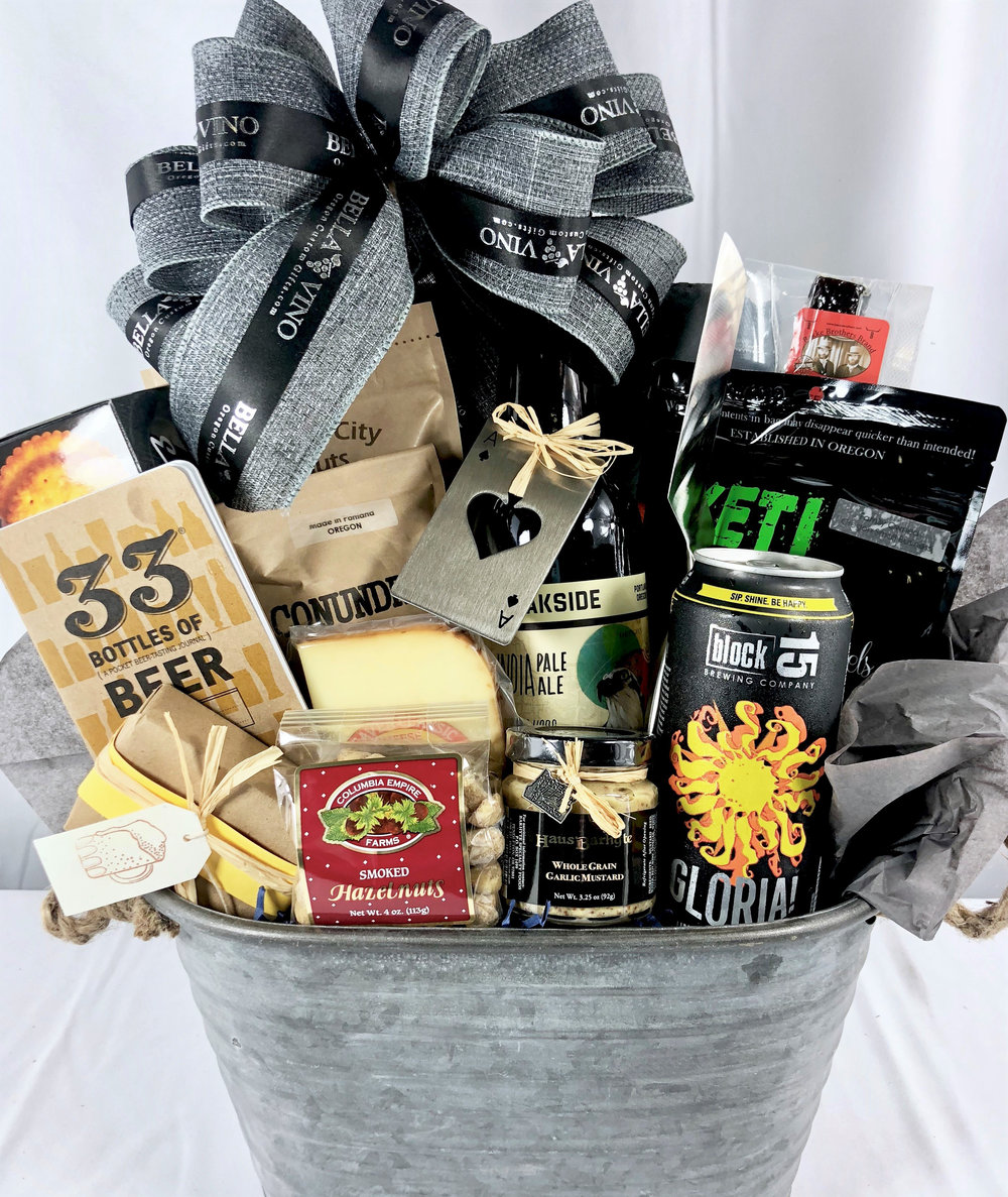 Custom Oregon Craft Beer Gift Basket