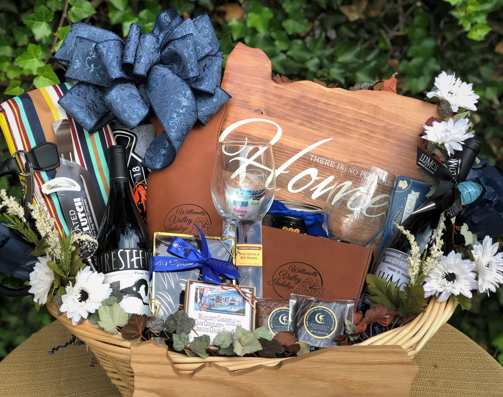 Willamette Indulgences Gift Basket