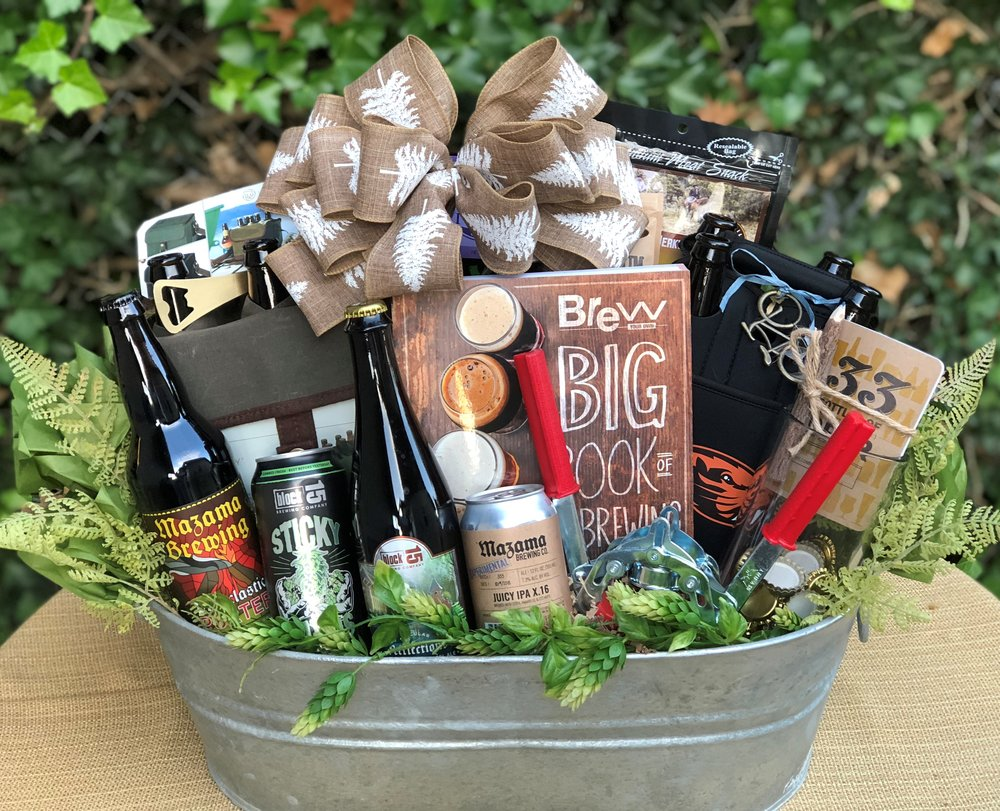 Oregon Home Brew Gift Basket