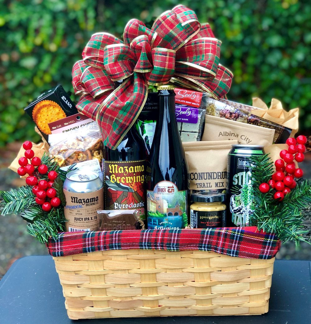 Holiday Beer Gift Basket