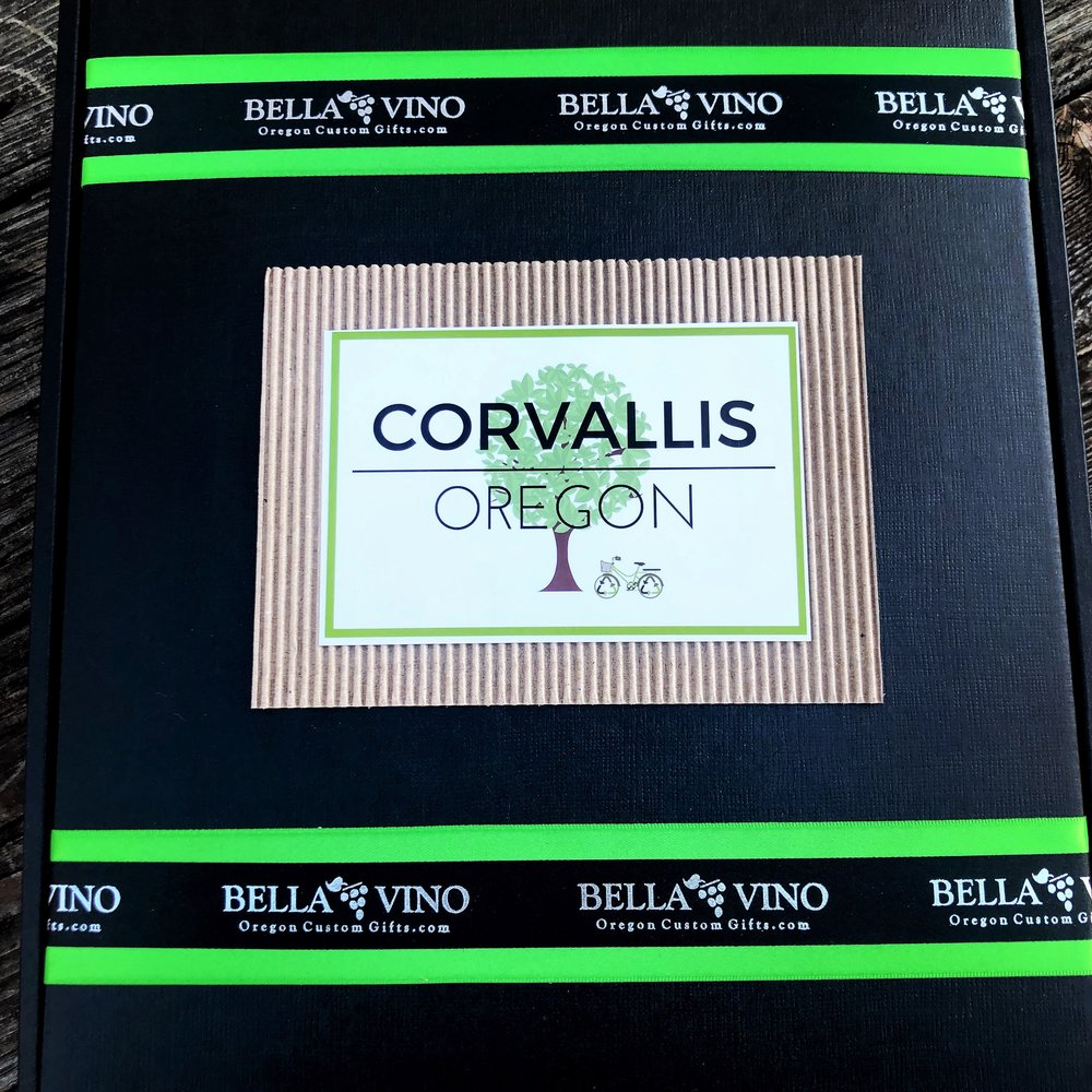 """Like this design? Select """"Corvallis Themed"""" design on your custom form."""