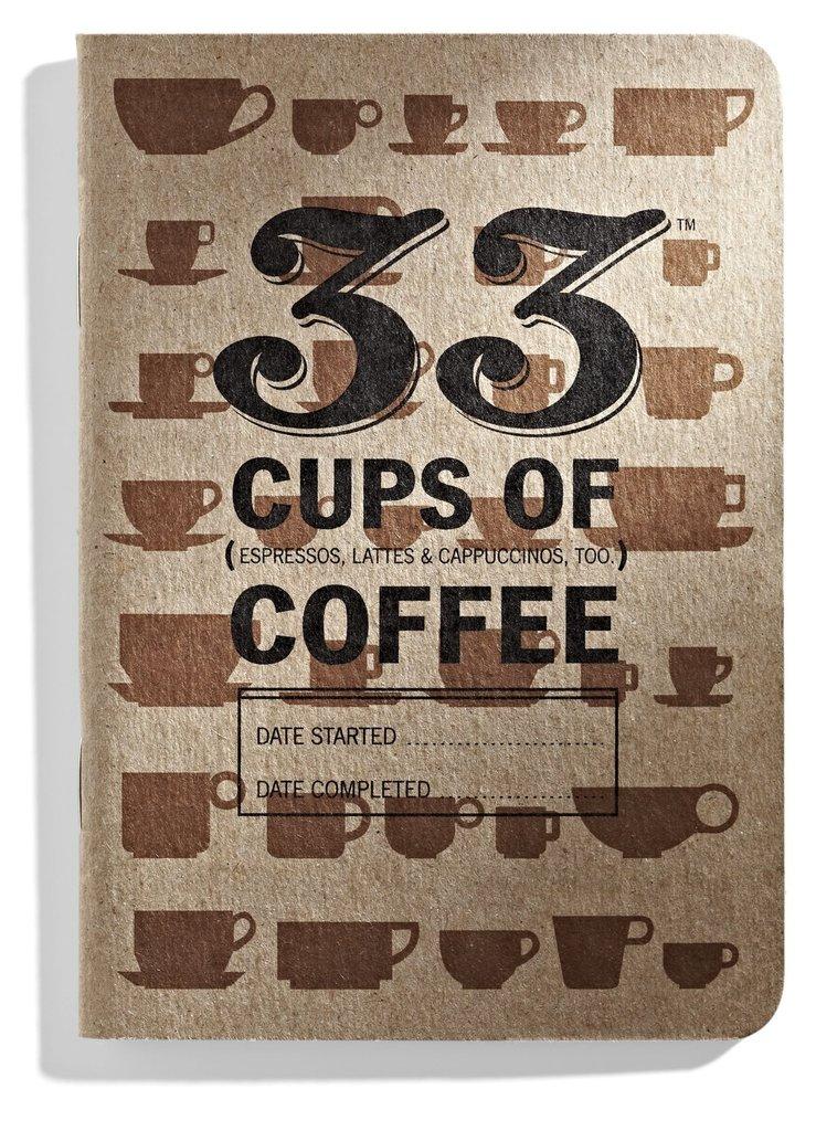 33 Books Coffee Tasting Journal