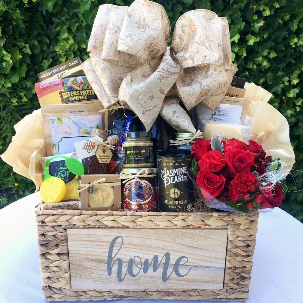 Custom New Home Gift Basket