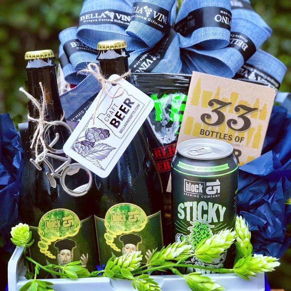 oREGON CRAFT BEER - More gift basket options being added soon-also see Corvallis Gift Boxes