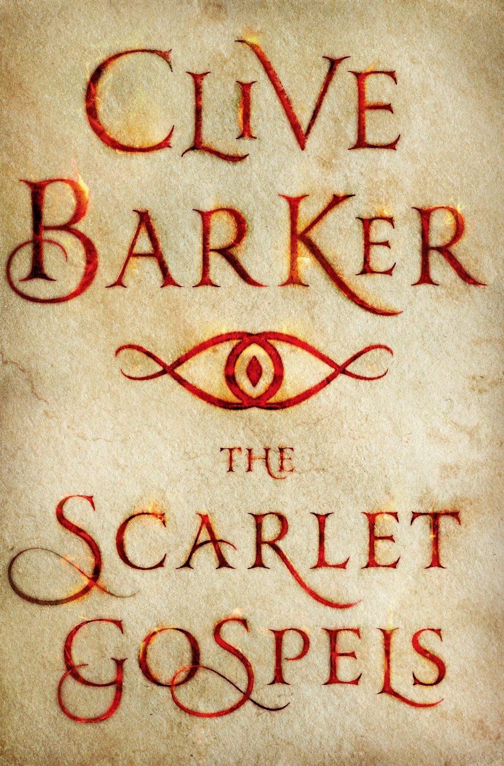 Clive Barker Scarlet Gospels Cover