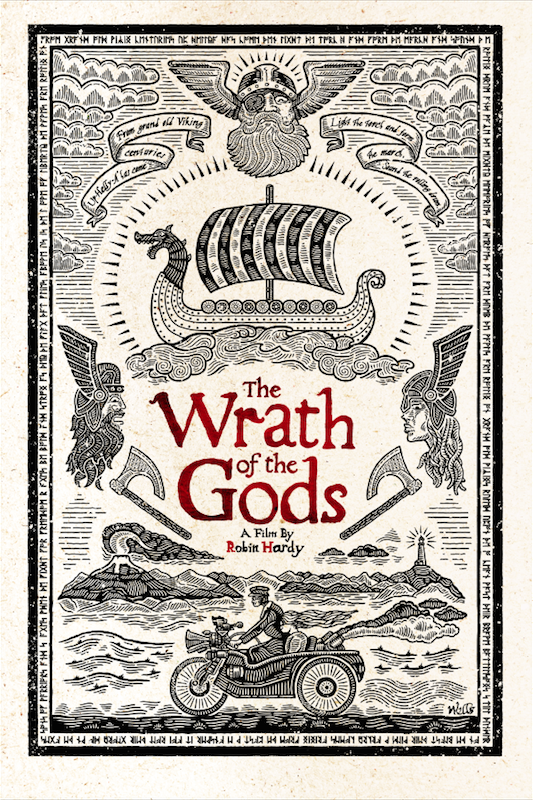 wrath of the gods richard wells