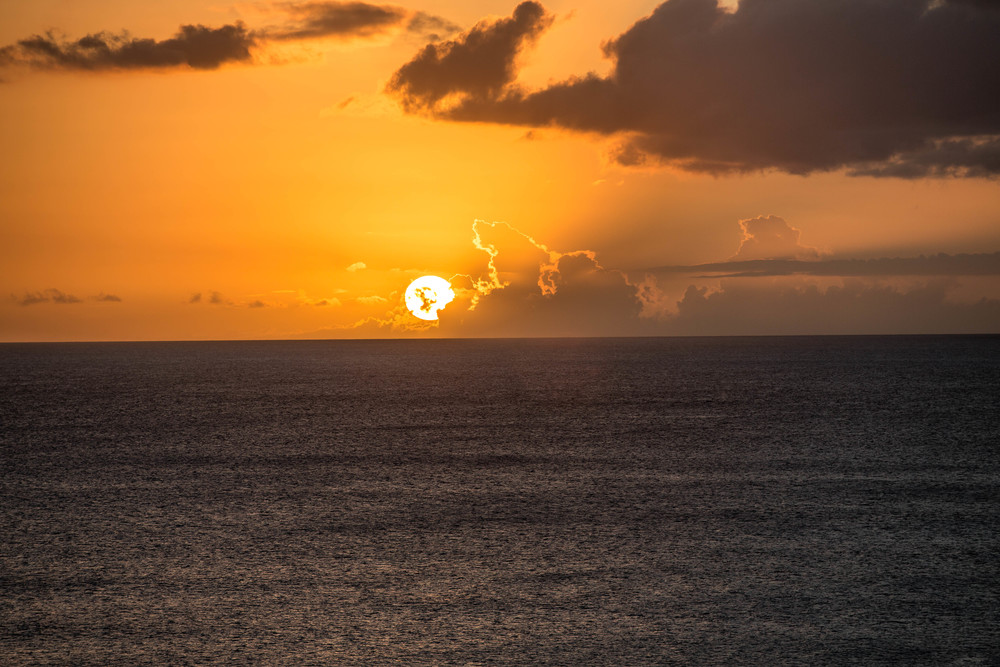 A gorgeous sunset in Hawaii