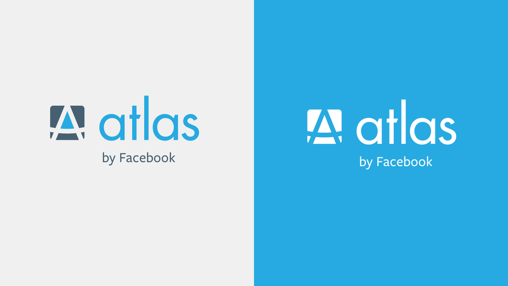 The primary lockup for the Atlas brand, including the mark, logotype, and brand identifier.