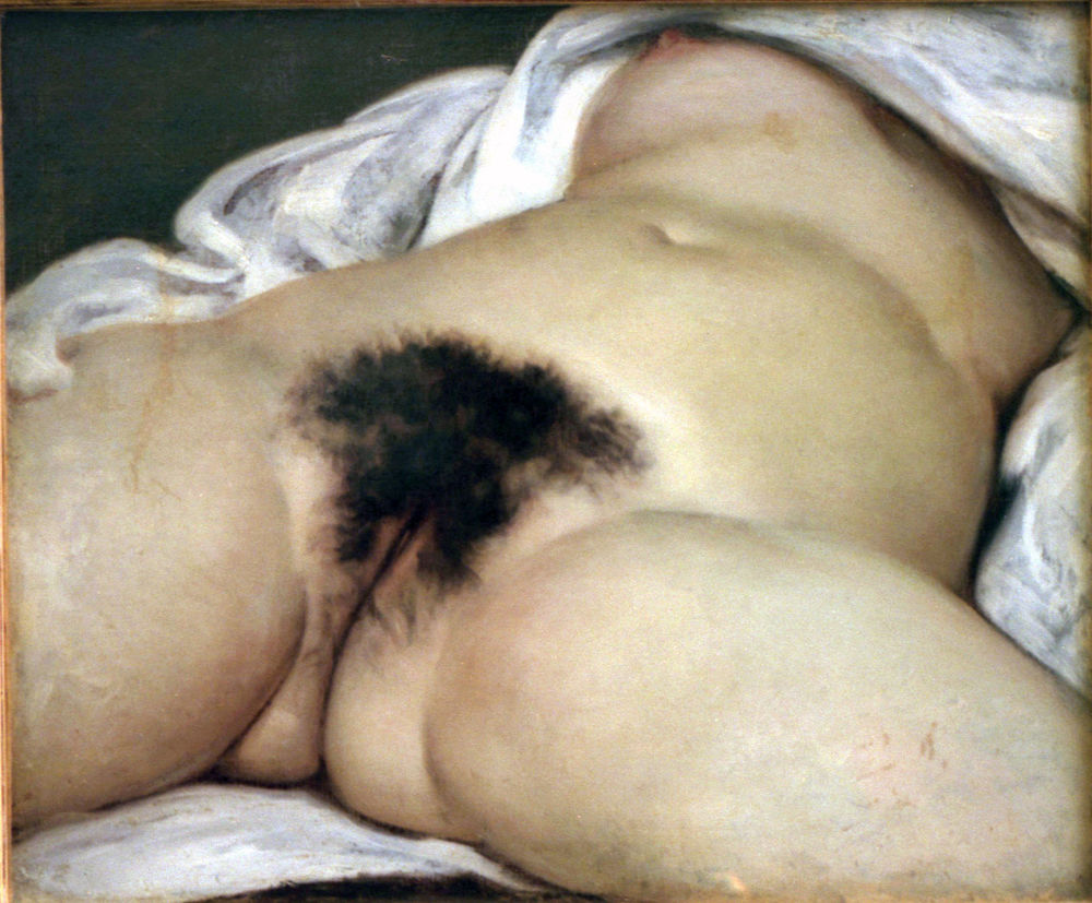 Gustave Courbet - L'Origine du Monde 1866