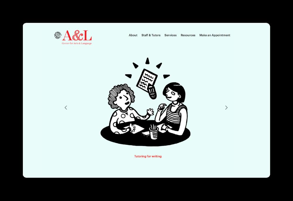 A&L Web — Landing Pagw