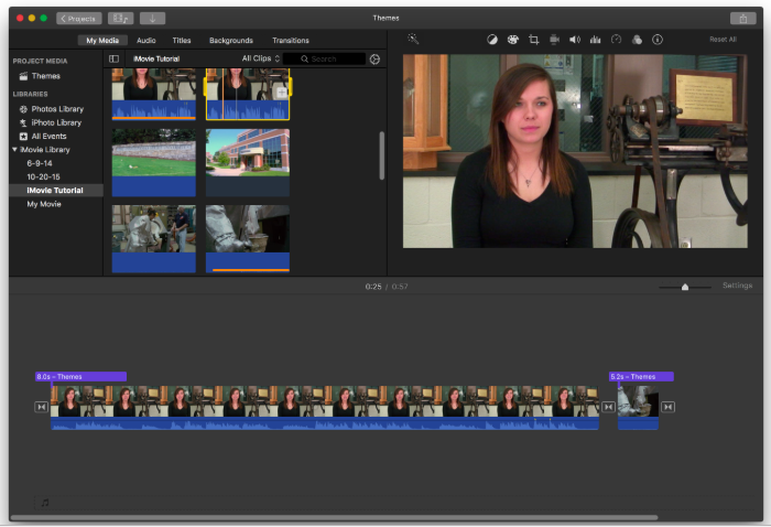 Penn State iMovie Basics Tutorial