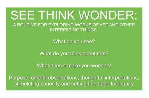 See Think Wonder PDF