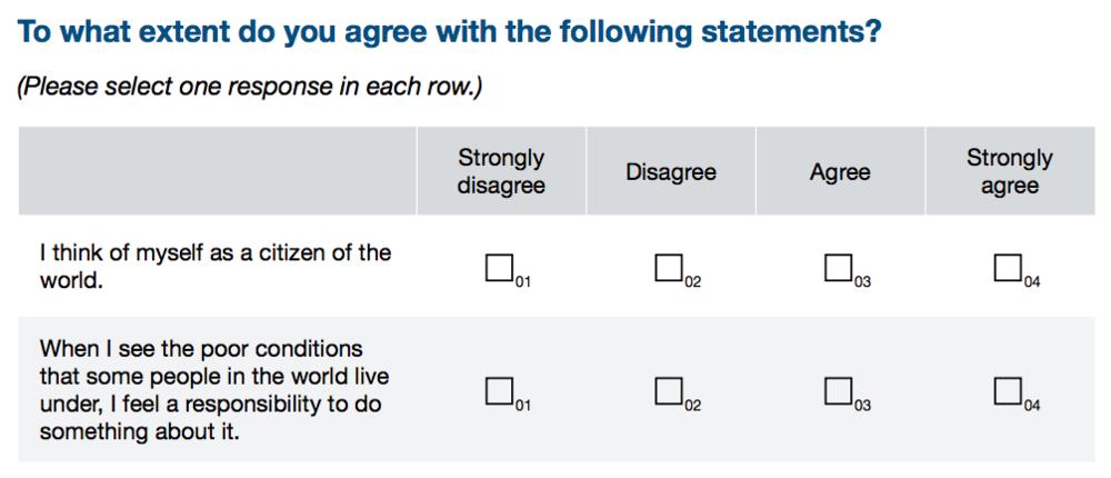 OECD PISA Questionnaire