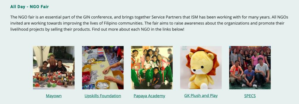 NGO Fair information