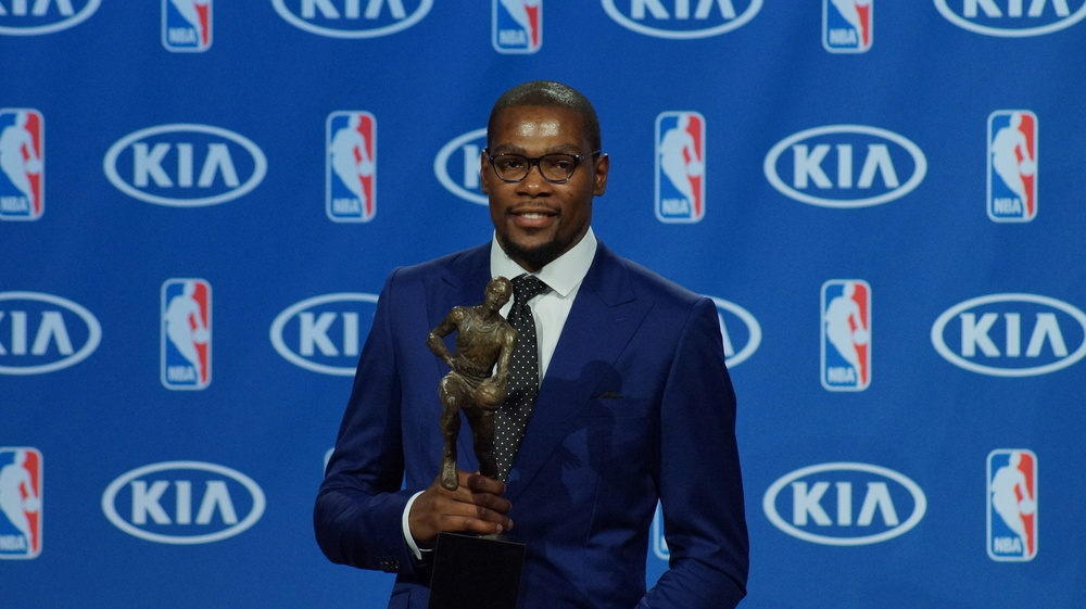 Kevin Durant 2014 NBA MVP - Photo by Jeremy Griffin for InsideThunder.com