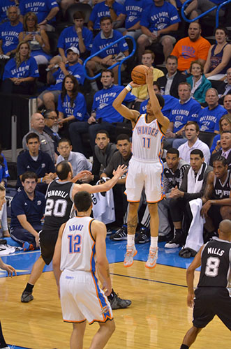 Jeremy Lamb - Photo By Torrey Purvey For InsideThunder.com