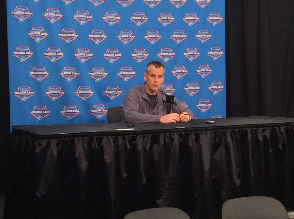 Coach Billy Donovan - Photo by Randy Renner