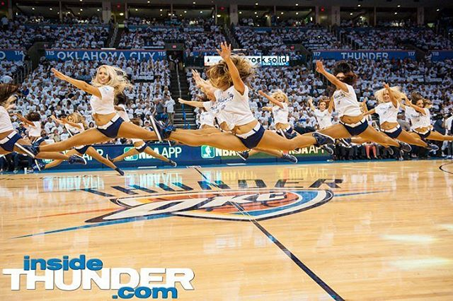 And now the Thunder girls!