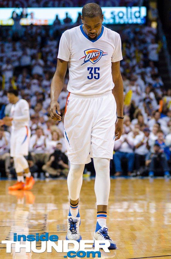 Thunder forward Kevin Durant. Photo: Torrey Purvey/ InsideThunder.com