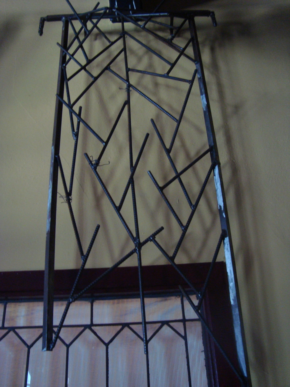 Trellis For Broken Window