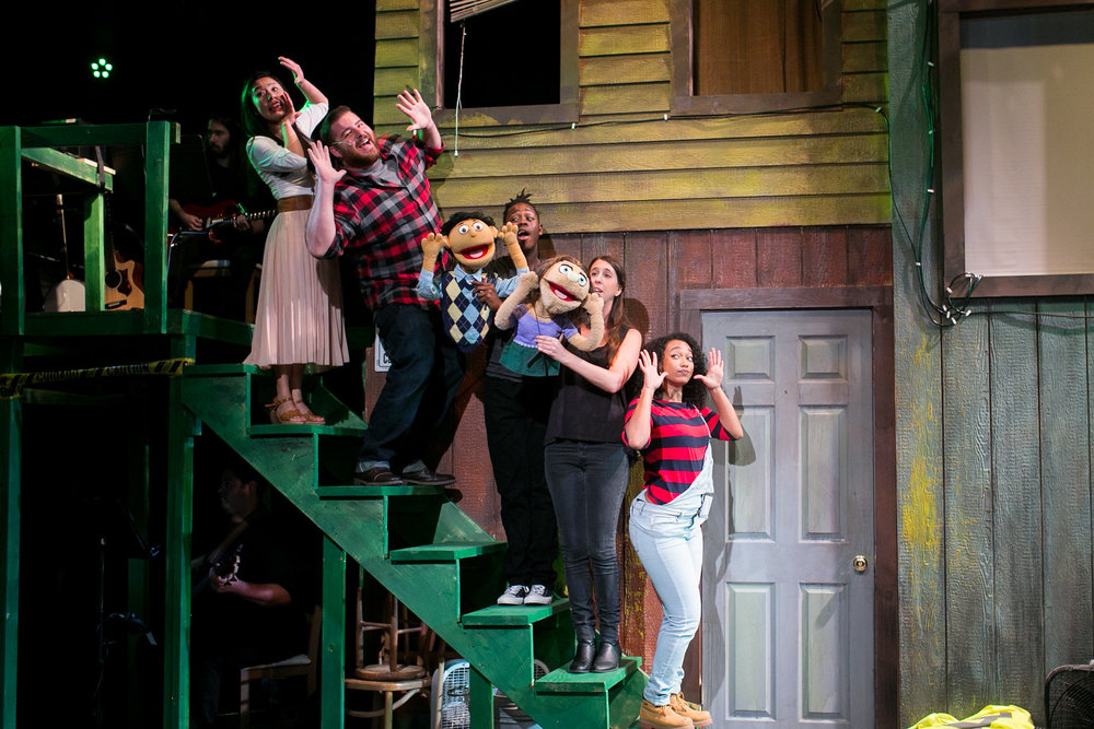 Avenue Q  at Redhouse Arts Center in Syracuse, NY