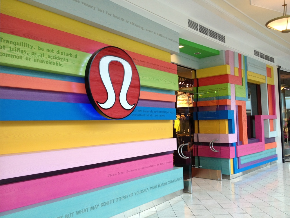 Philadelphia, King of Prussia Mall, USA  One of the most beautiful store fronts I've seen!  http://www.lululemon.com/kingofprussia/kingofprussia