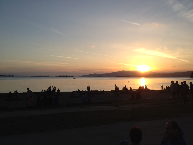 "Thank you for joining me in Vancouver! It's called ""Beautiful British Columbia"" for a reason!"
