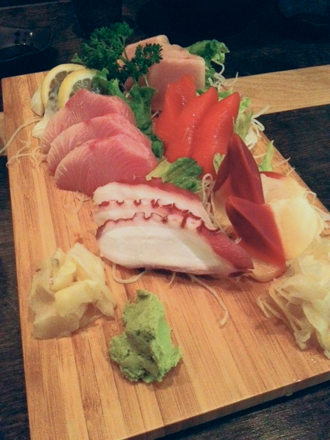 Great rolls and fresh sashimi cut so thick! Service was great too. Wish I could go back for some now!