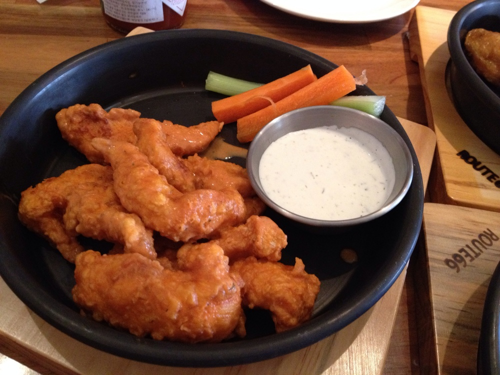 Boneless Buffalo Wings - I know some people would love this boneless wing option.