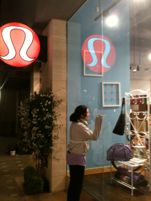 <3 lululemonlove <3    No matter where in the world...I'll find you!