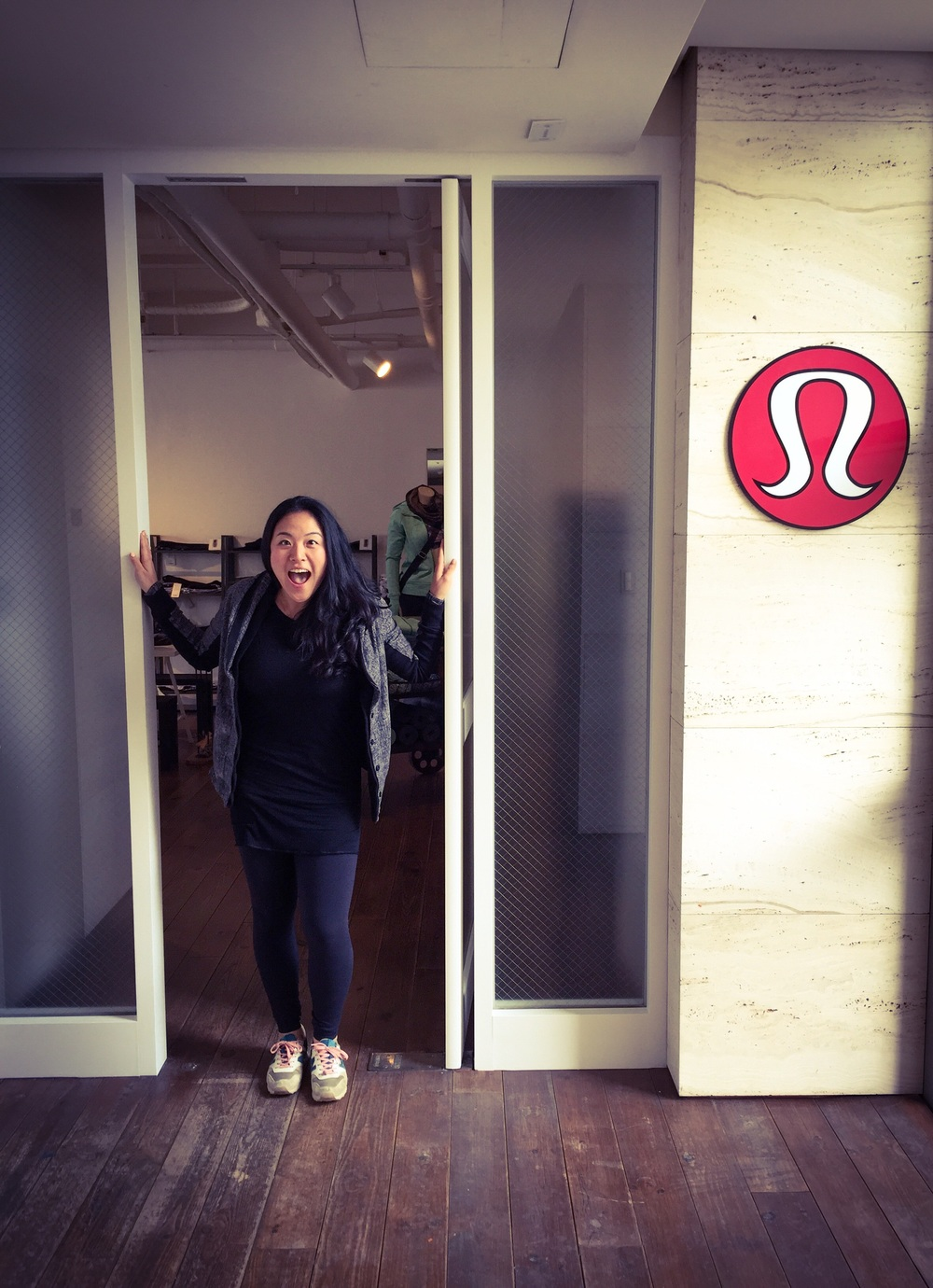 Welcome to the LULULEMON SHOWROOM IN SEOUL!!!